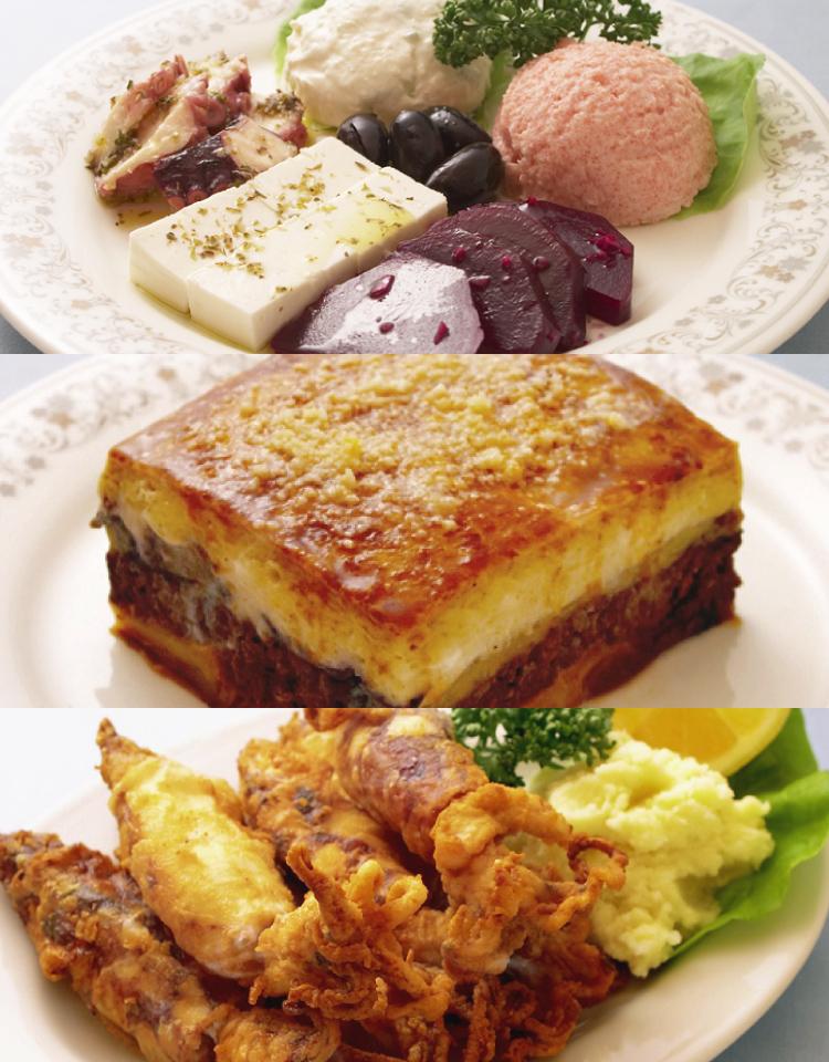 料理 ギリシャ